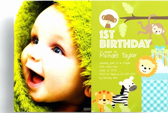Birthday Invitation Template Photoshop Inspirational Free Birthday Party Invitation Templates Shop – Best