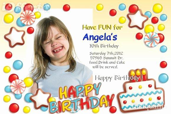 fine birthday invitation card template photoshop 7 photos invitation