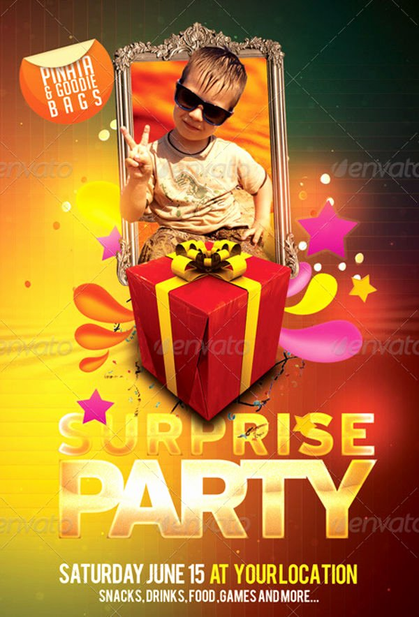 Birthday Party Flyer Template Best Of 10 Birthday Party Flyers Design Templates