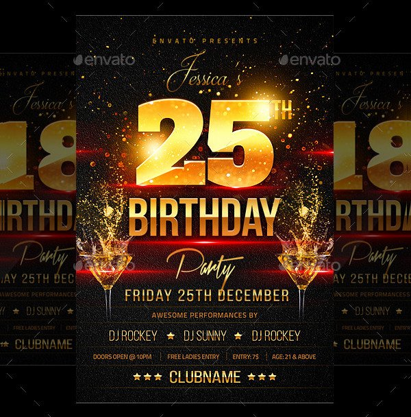 Birthday Party Flyer Template Inspirational 21 Birthday Party Flyer Free & Premium Psd Vector Tf