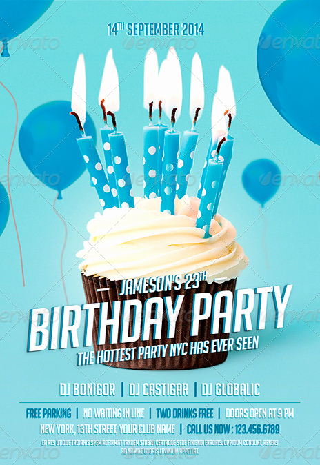 Birthday Party Flyer Template Luxury 20 Adult Party Flyer Psd Shop Psd Birthday