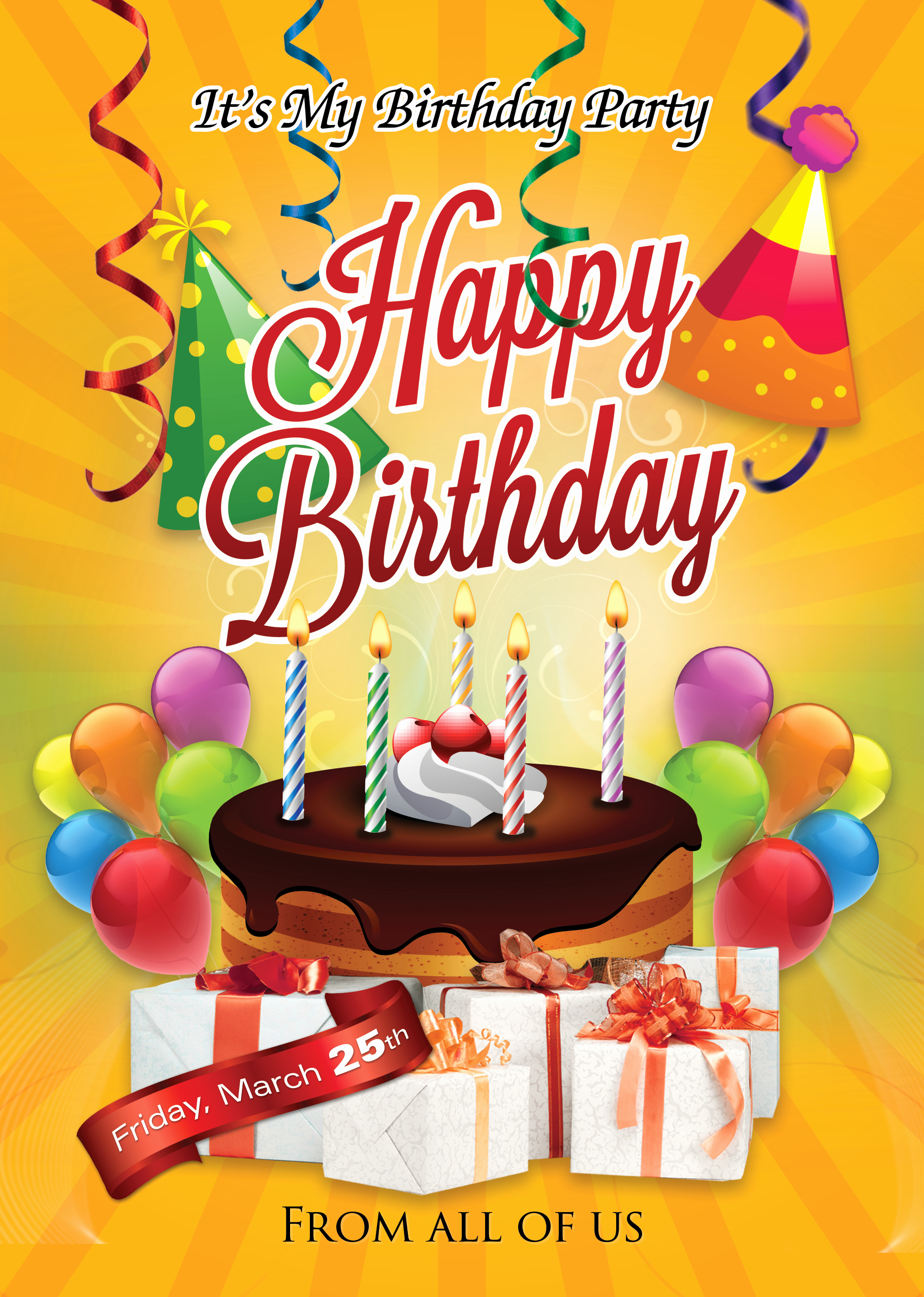 Birthday Party Flyer Template New Birthday Flyer Template Shop Cs6 Free Flyer Templates