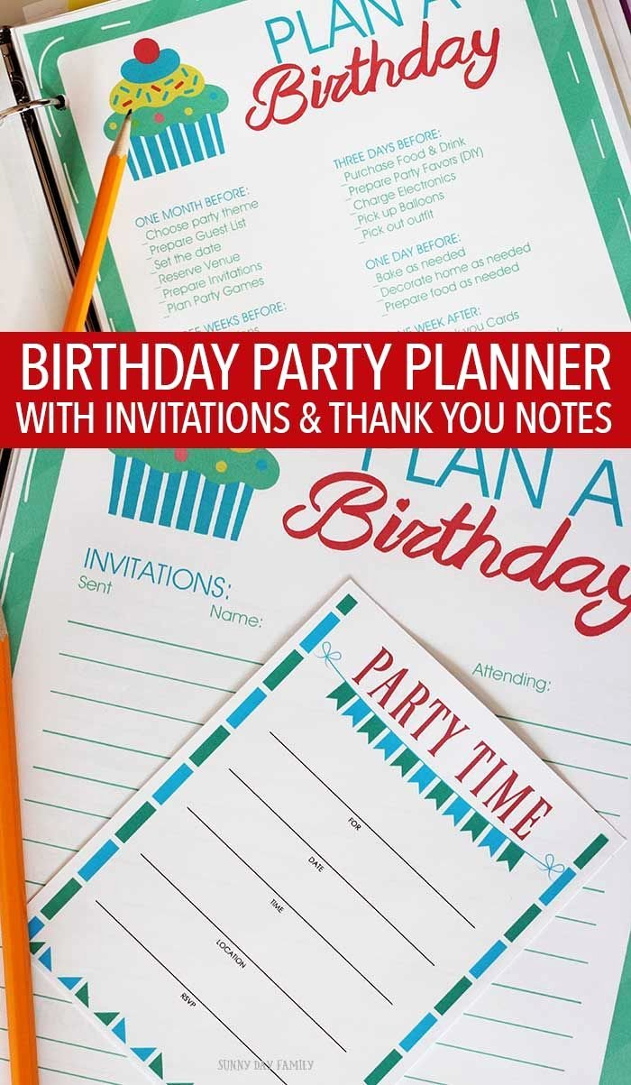 Birthday Party Planner Template Unique 25 Best Ideas About Party Planning Printable On Pinterest
