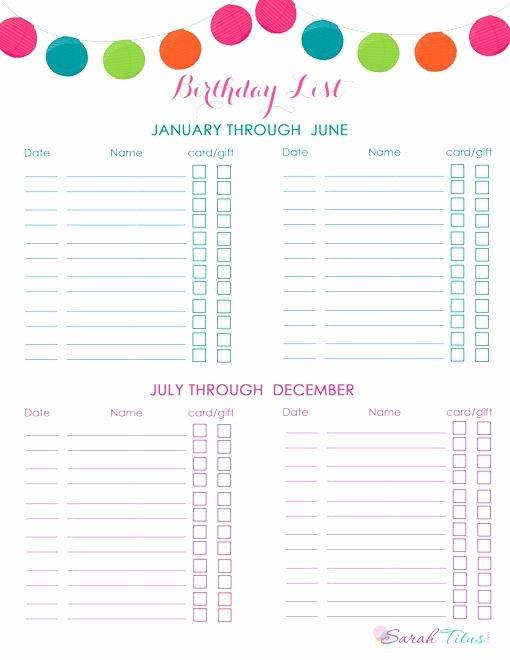 Birthday Wish List Template Elegant Printable Birthday Wish List Template with theme Pics