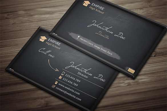 Black Business Card Template Awesome 39 Black Business Card Templates Word Ai Psd