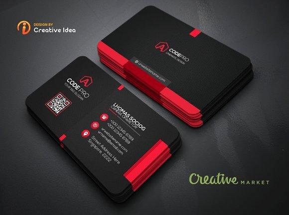 Black Business Card Template Beautiful Black Business Card Business Card Templates Creative