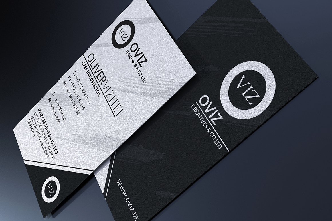 Black Business Card Template Best Of Black and White Business Card Business Card Templates On