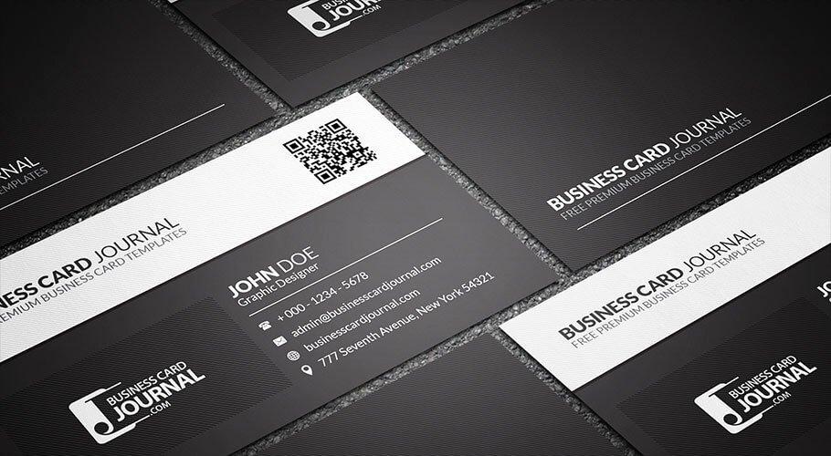 Black Business Card Template Inspirational 75 Free Business Card Templates that are Stunning Beautiful
