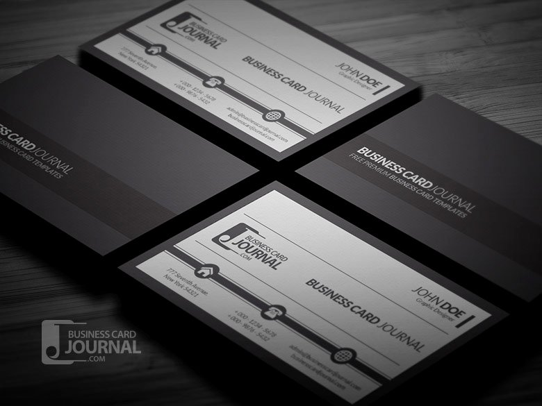 free business card templates mockups