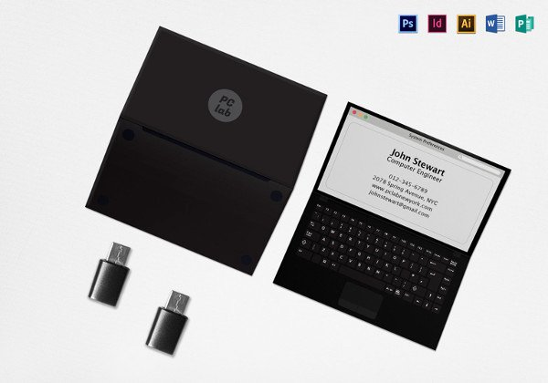 Black Business Card Template New 45 Excellent Black Business Card Templates Word Psd