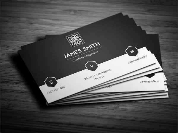 Black Business Card Template Unique 23 Personal Business Cards Free Psd Vector Ai Eps