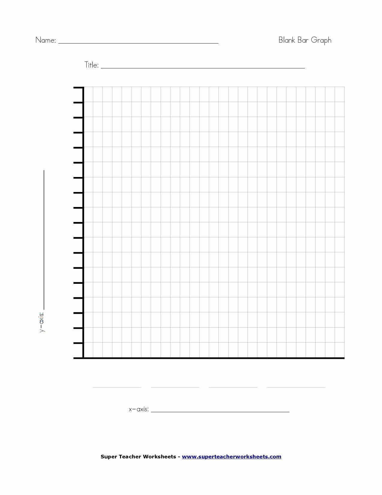 Blank Bar Graph Template Best Of 6 Best Of Fill In Blank Printable Graph Blank Bar