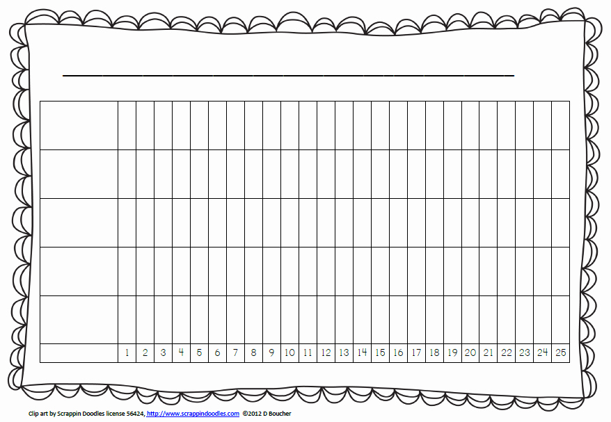 Blank Bar Graph Template Inspirational Math Coach S Corner