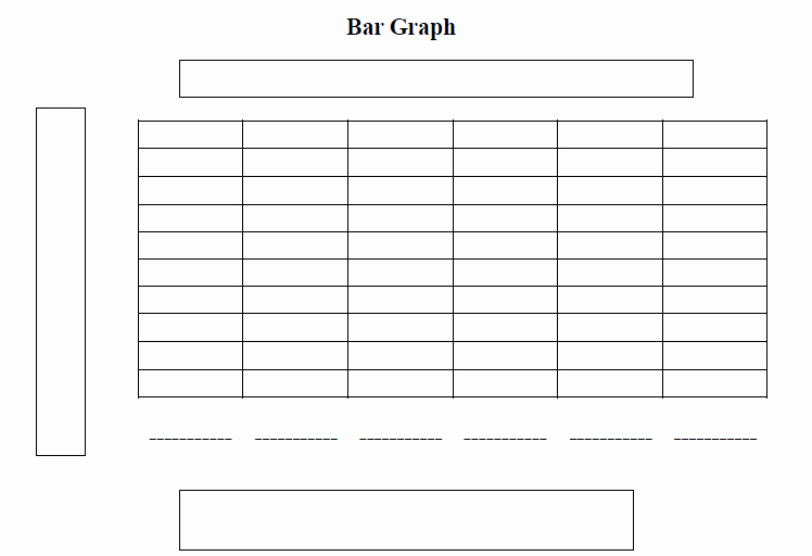 Blank Bar Graph Template Lovely 4 Best Of Printable Blank Data Charts Blank Bar