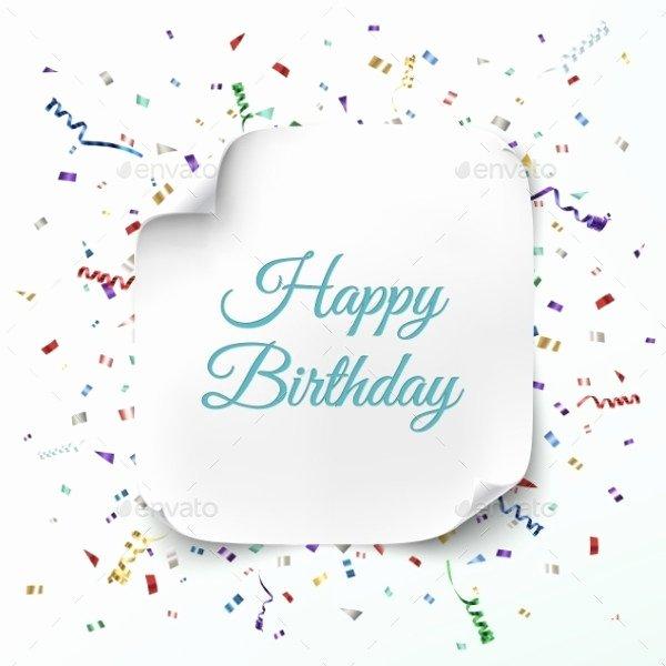 Blank Birthday Card Template Awesome 21 Birthday Card Templates Psd Vector Eps Jpg