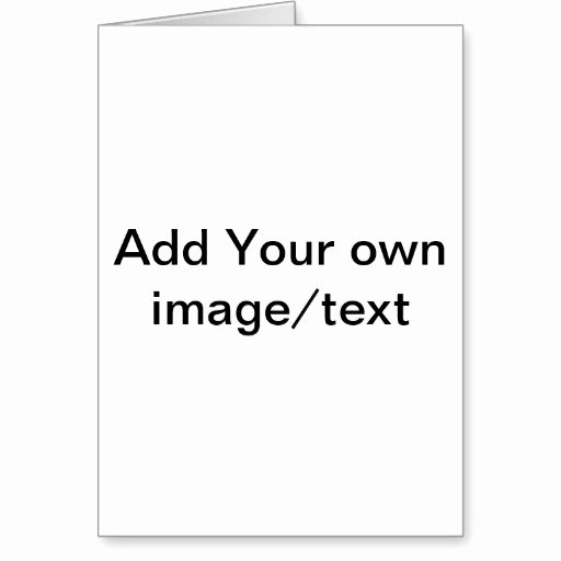 Blank Birthday Card Template Fresh 13 Microsoft Blank Greeting Card Template Free