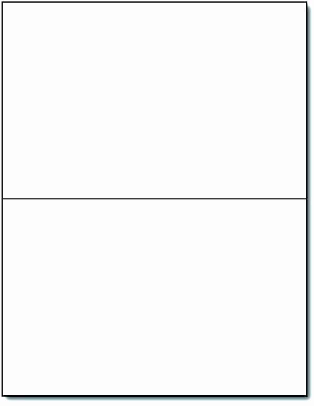 Blank Birthday Card Template Fresh Flash Card Template Printable Blank Word Flashcard Double