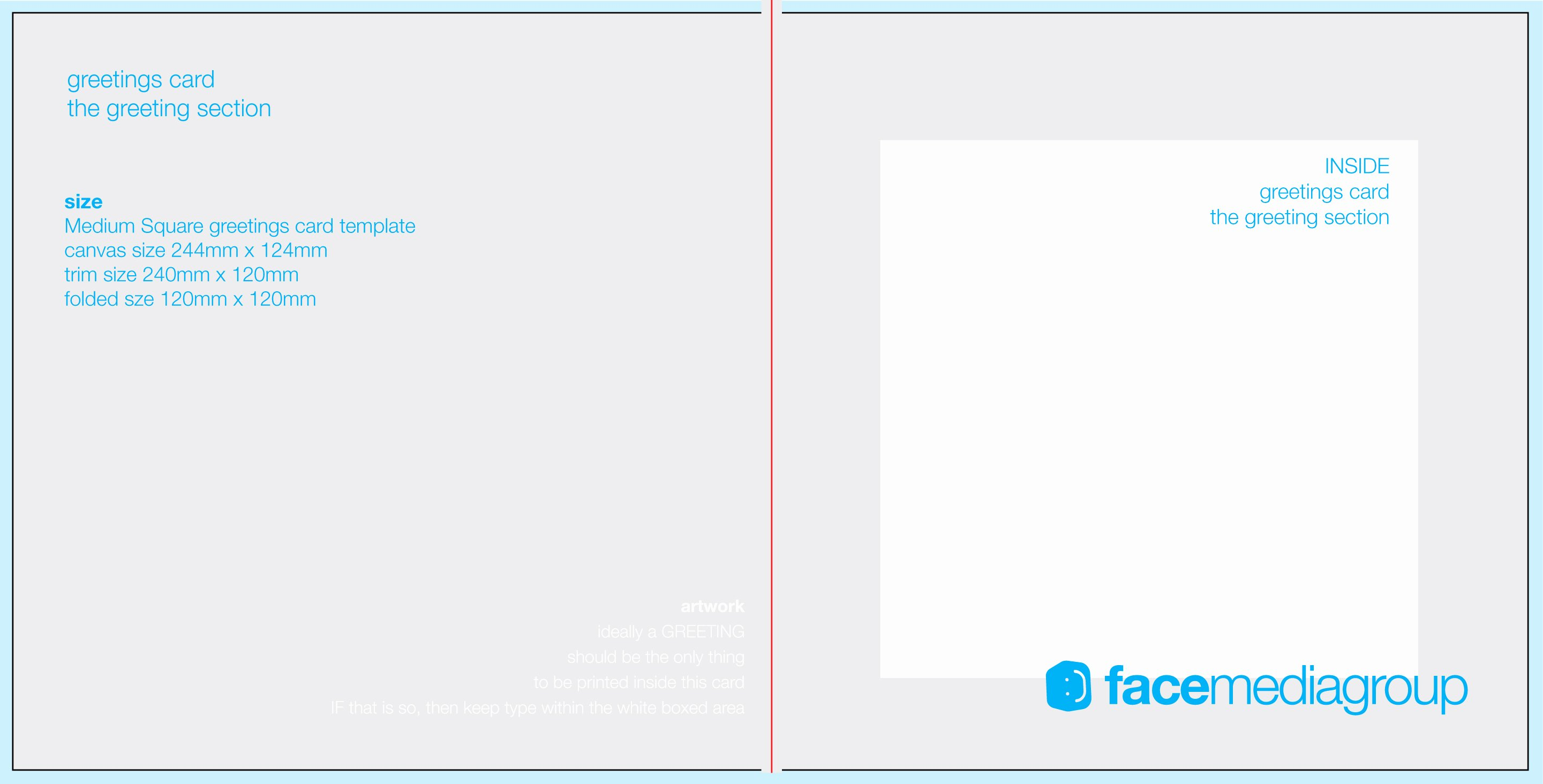 Blank Birthday Card Template Fresh Free Blank Greetings Card Artwork Templates for Download
