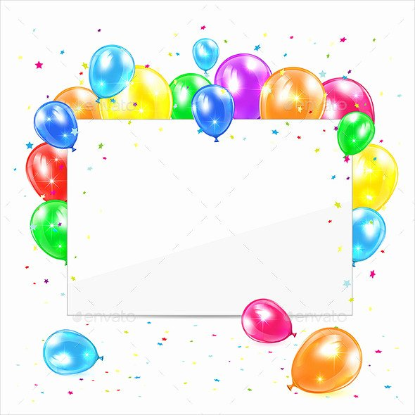 Blank Birthday Card Template Luxury 60 Card Designs