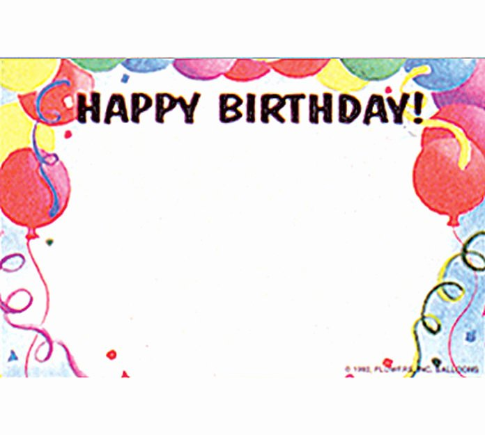 Blank Birthday Card Template New Blank Birthday Card Template – Happy Holidays