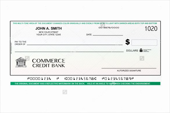 Blank Business Check Template Beautiful Blank Business Check Template Word
