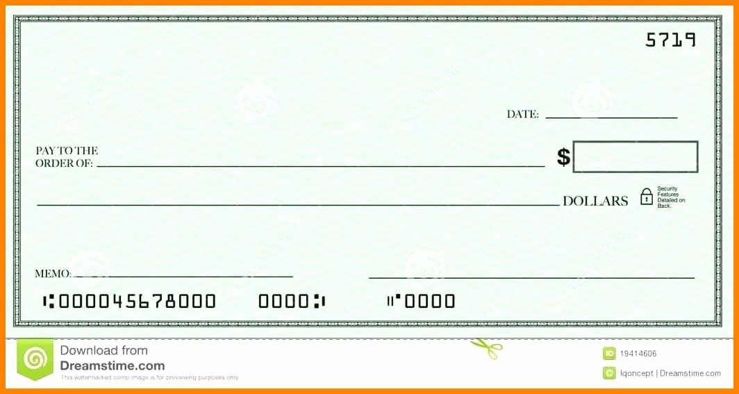 Blank Business Check Template Best Of 12 Editable Blank Check Template