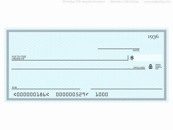Blank Business Check Template New 7 Best Of Printable Personal Blank Check Template