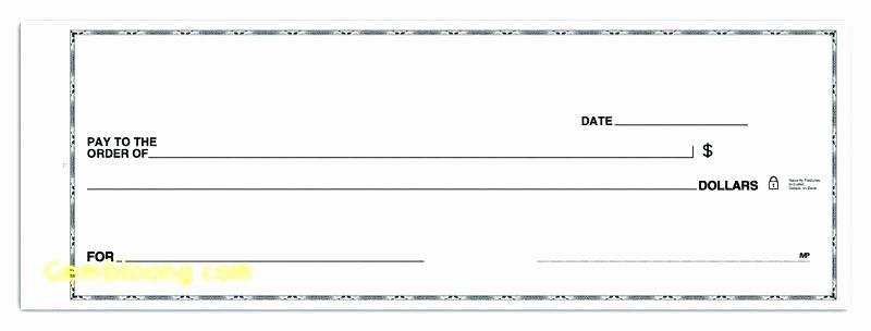 Blank Cashiers Check Template Fresh Blank Check Template Blank Check Template Editable Blank