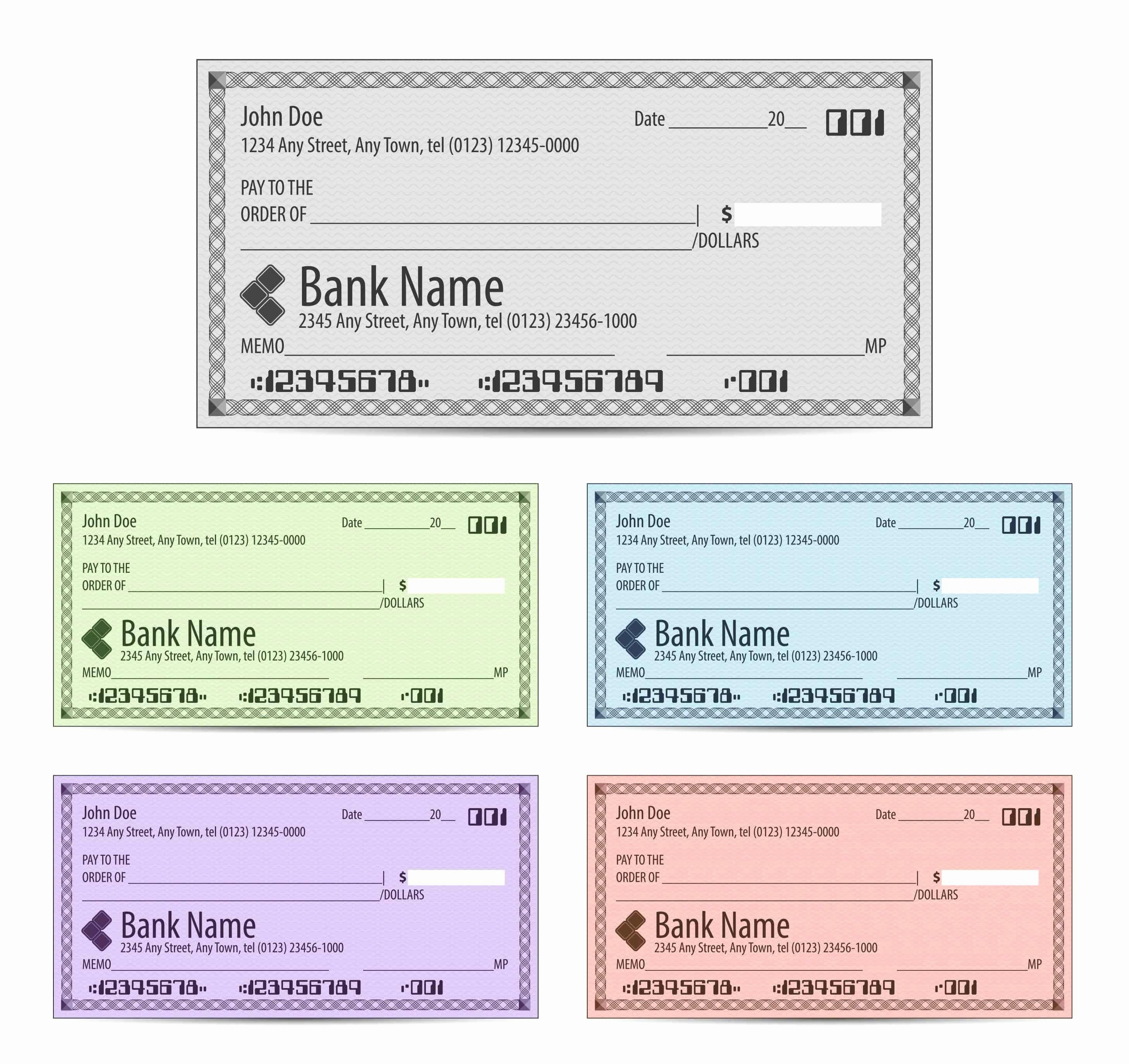 Blank Cashiers Check Template Inspirational Elegant Editable Blank Cashiers Check Template