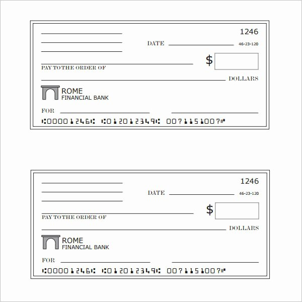 Blank Check Template Word Awesome 43 Cheque Templates Free Word Excel Psd Pdf formats