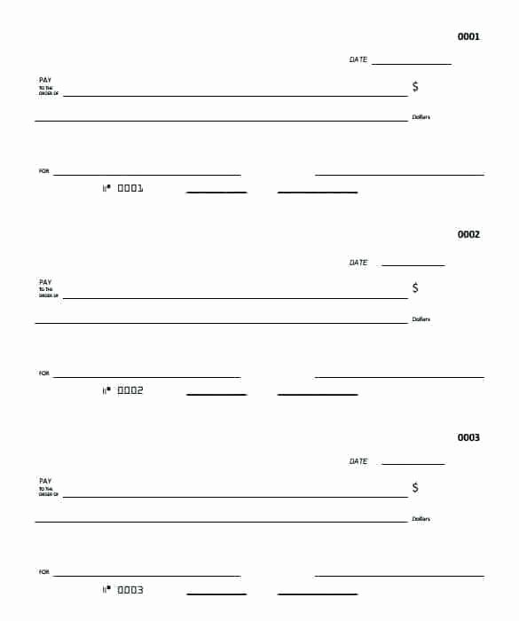 Blank Check Template Word Inspirational to Blank Cheque Template Download Free Check 7 Documents