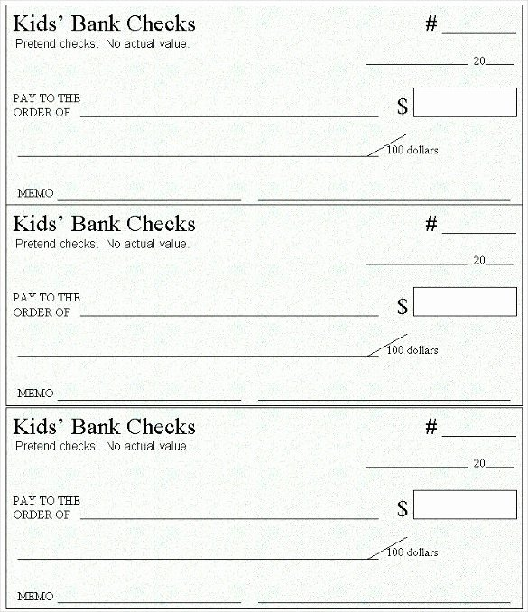 Blank Check Template Word Luxury 6 Blank Check Templates for Microsoft Word Website