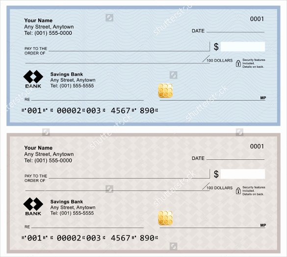 Blank Check Template Word Luxury Blank Check Template – 30 Free Word Psd Pdf & Vector