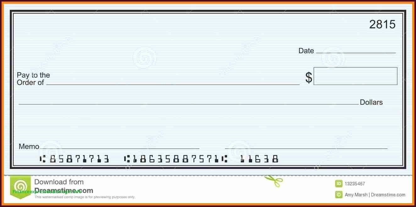 Blank Check Template Word Unique Editable Blank Check Template Fresh Template Template