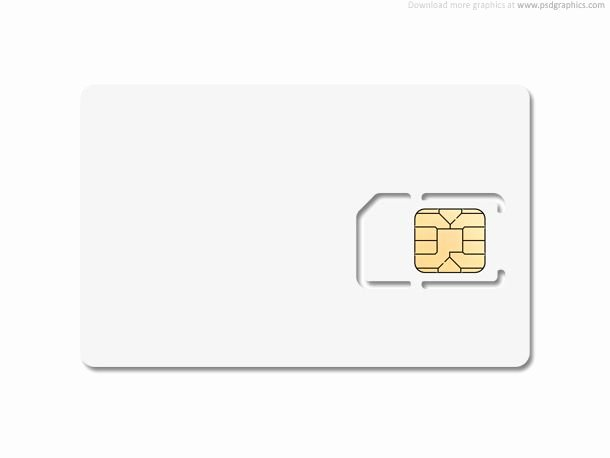 Blank Credit Card Template Awesome Blank Sim Card Template Edit Layered Psd File and Put