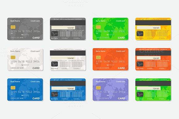 Blank Credit Card Template New Back Blank Credit Card Template Designtube Creative