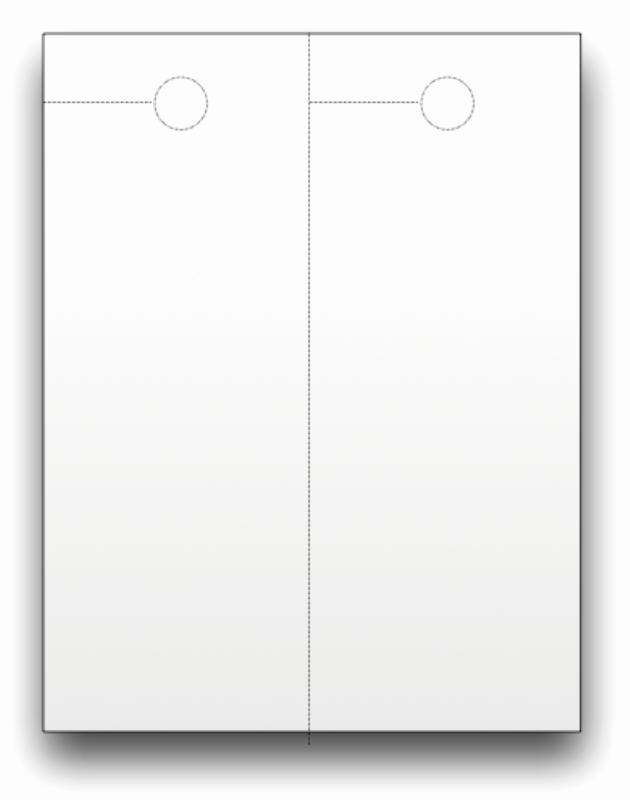 Blank Door Hanger Template Beautiful Blank Door Hangers Custom Print
