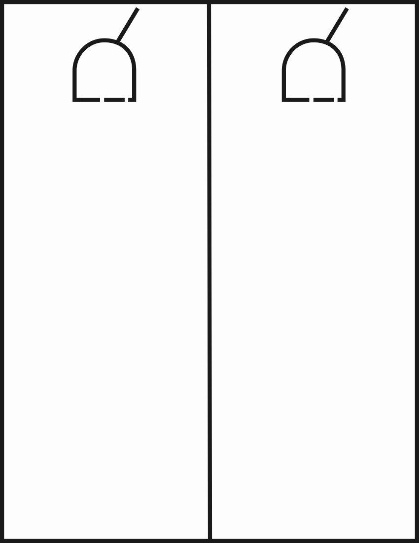 Blank Door Hanger Template Lovely Door Template & Door U0026 Drawer Router Carving Template Set