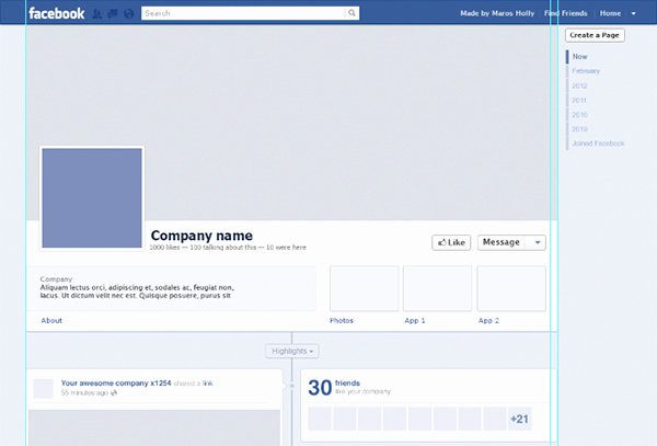Blank Facebook Page Template Beautiful Page Template