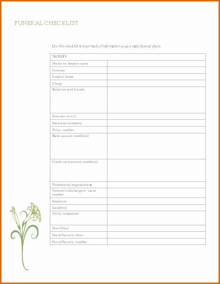 Blank Funeral Program Template Lovely 8 Free Funeral Program Template Microsoft Word