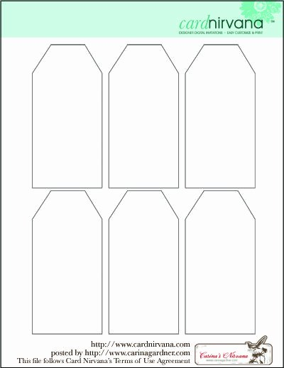 Blank Gift Tag Template Inspirational Blank Tag Printable Free Clipart