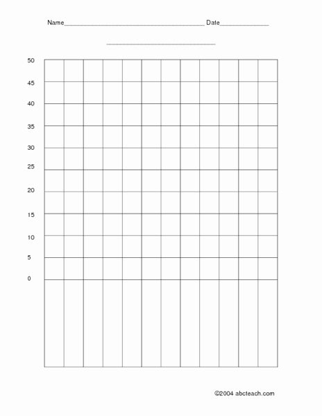 Blank Line Graph Template Inspirational Blank Bar Graph Template for First Grade Blank Bar Graph