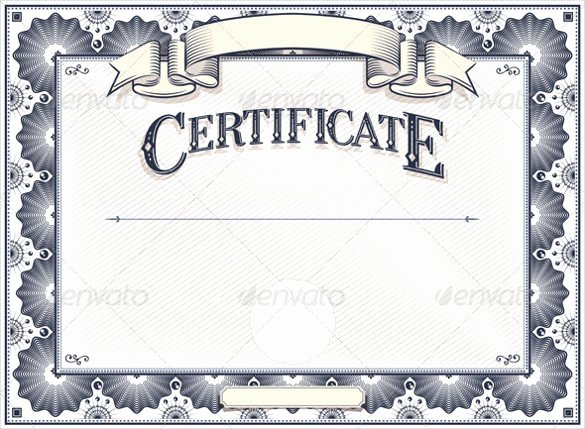 Blank Marriage Certificate Template Awesome 36 Blank Certificate Template Free Psd Vector Eps Ai