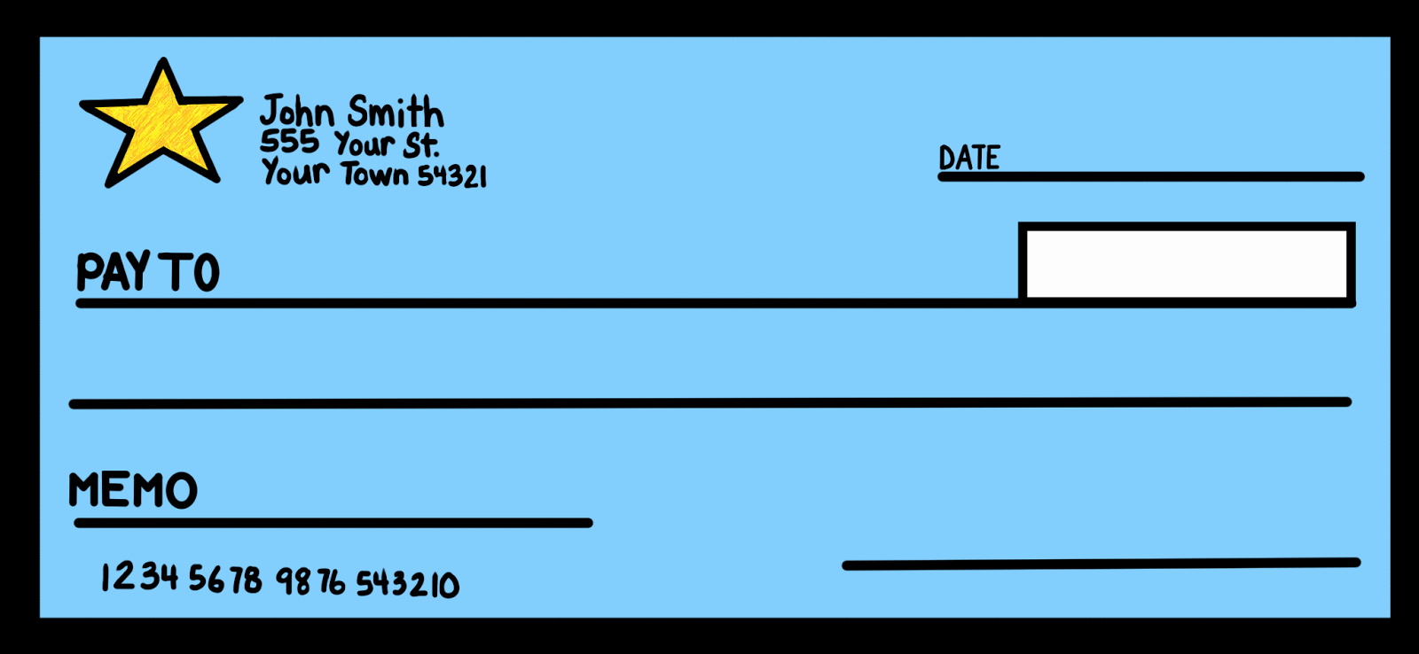 Blank Money order Template Best Of Clip Art by Carrie Teaching First Money Doodles with