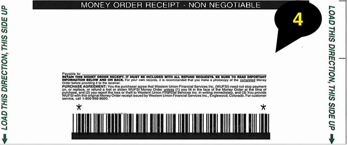 fill money order