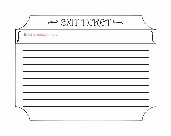 Blank Parking Ticket Template Lovely Blank Tickets Template – Takesdesign