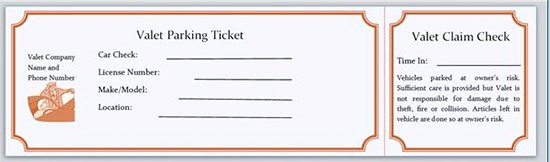 Blank Parking Ticket Template Unique Printable Parking Tickets Pdf