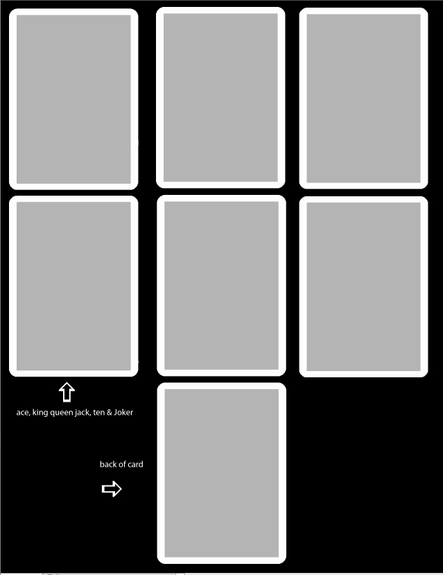 Blank Playing Card Template Elegant New Playing Card Template