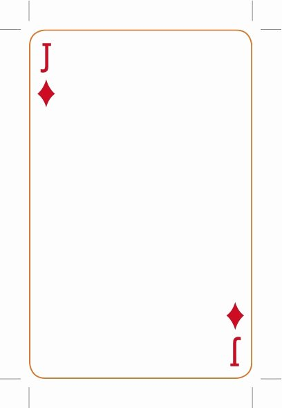 Blank Playing Card Template Inspirational Best S Of Playing Card Template Playing Card Deck