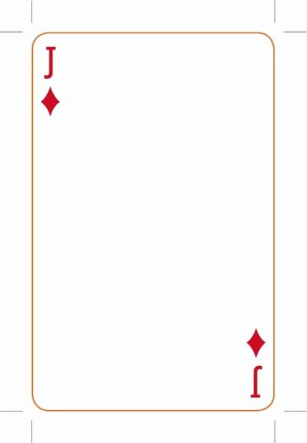 Blank Playing Card Template Luxury Best S Of Playing Card Templates for Word Playing
